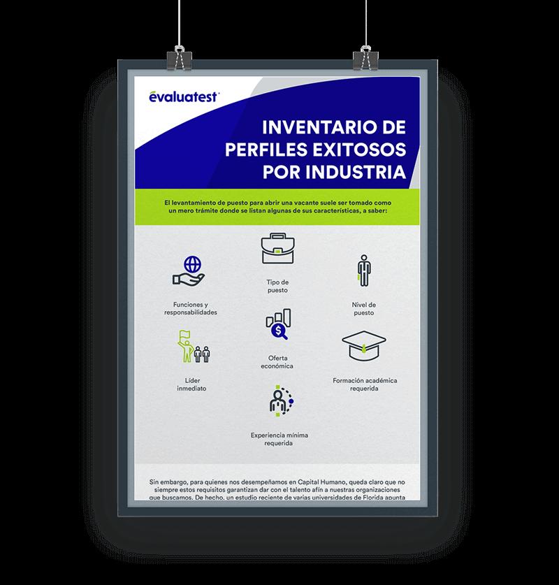 Infografía inventario de perfiles exitosos
