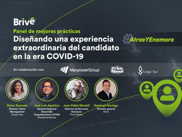 Diseñando una experiencia extraordinaria del candidato en la era COVID-19