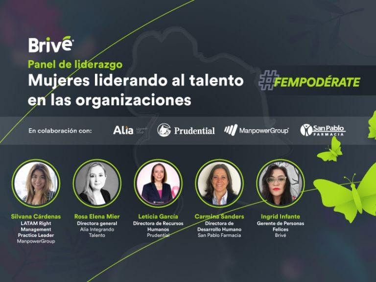 Mujeres liderando al talento en las organizaciones