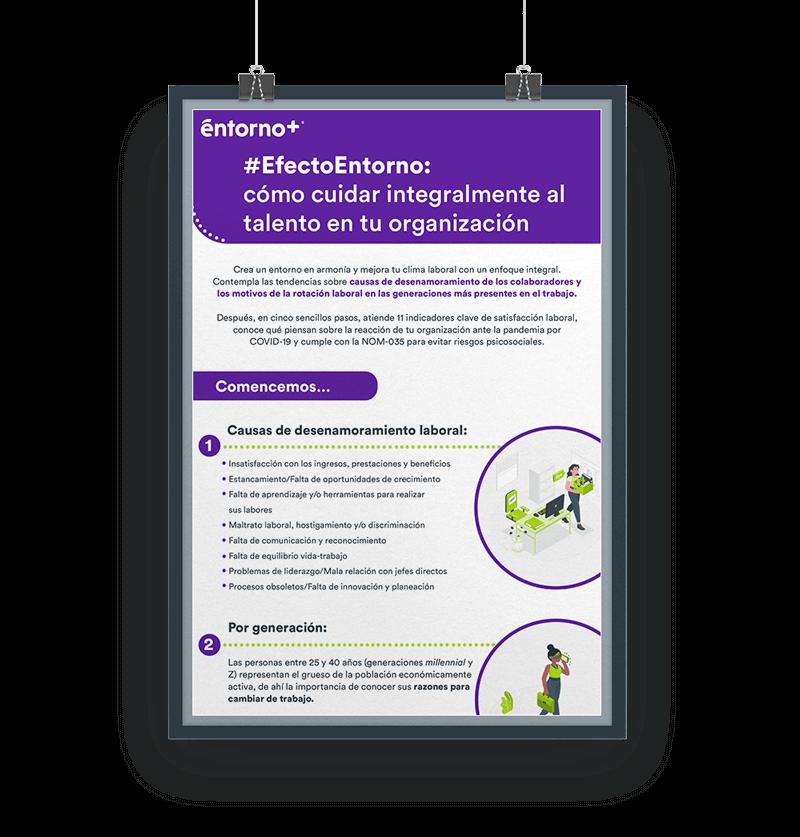 #EfectoEntorno: cómo cuidar integralmente al talento en tu organización